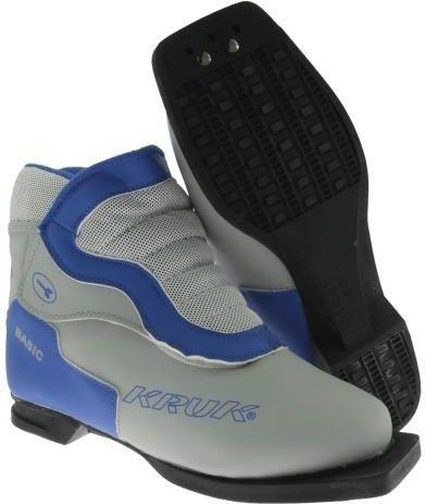 Buty narciarskie biegowe bez zaczepu szare r. 42 (94990x)