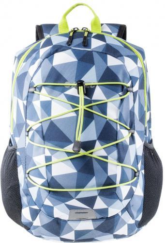 Hi-tec Plecak sportowy Enzo 18L Blue Triangle/Lime Punch