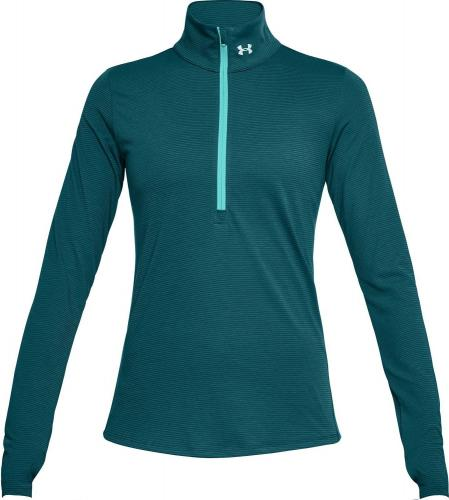 Under Armour Bluza damska Threadborne Streaker 1/2 Zip turkusowa r. S (1271525-716)