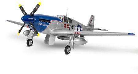 "FMS Elektroszybowiec FMS P-51B Mustang ""SS"" V8 1450mm ARF (4ST19039-A)"