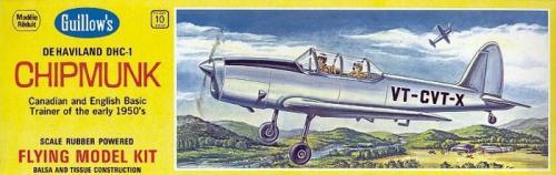 Guillows Samolot z balsy Guillow's DHC-1 Chipmunk rozpiętość 432 mm (4SH0903)