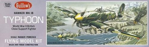 Guillows Samolot z balsy Guillow's Hawker Typhoon (4SH0906)