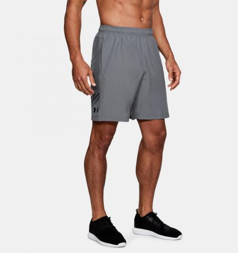 Under Armour Spodnie męskie Woven Graphic Short szare r. L (1309651-513)