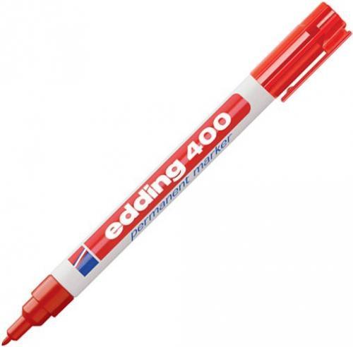 Edding Marker permanentny 1MM czerwony (400/002/CZ ED)