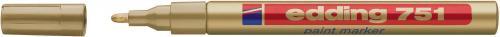 Edding Marker lakierowy 1-2 MM złoty (751/053/ZL ED)