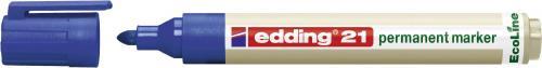 Edding Marker permanentny, ekologiczny,okrągła końcówka, niebieski (21/003/N ED)