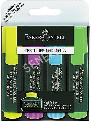 Faber-Castell Zakreślacze 48 w etui 4 kolory