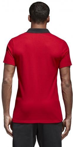 Adidas Koszulka piłkarska Condivo 18 CO Polo czerwona r. S (CF4376) do porównania ID produktu: 1746473