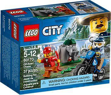 LEGO CITY Police Pościg za terenówką (60170)