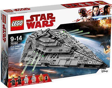 LEGO STAR WARS Niszczyciel gwiezdny Najwyższego Porządku (75190)