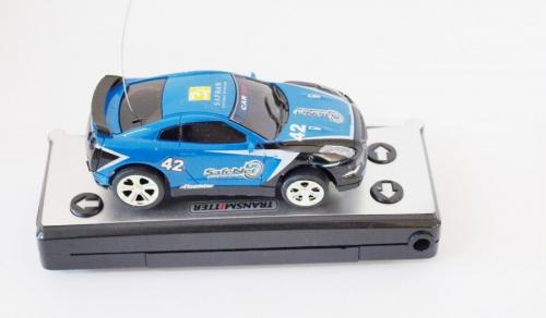 WL TOYS Mini Car RC 1:58, Niebieski  (WL/2010B-BLU)