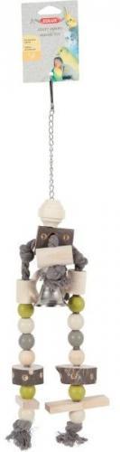 Zolux Drewniana zabawka dla papug AMARO