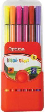 Optima Pisak 12 kolorów OPTIMA