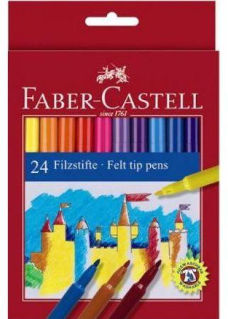 Faber-Castell Flamastry 24 kolory