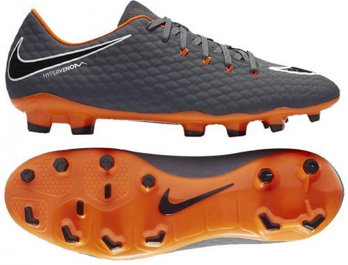 Nike Buty piłkarskie Hypervenom Phantom 3 Academy FG szare r. 44.5 (AH7271 081)