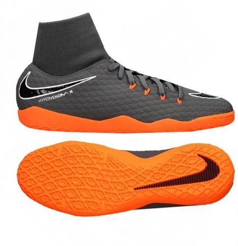 Nike Buty piłkarskie Hypervenom PhantomX 3 Academy DF IC szare r. 42 (AH7274 081)