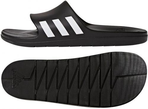 Adidas Klapki męskie aqualette  czarne r. 44.5 (CG3540)