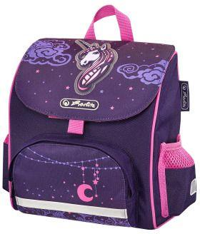 b758dd3d493b0 Herlitz Tornister Vorschulranzen mini softbag Unicorn Night fioletowy  (50014071)
