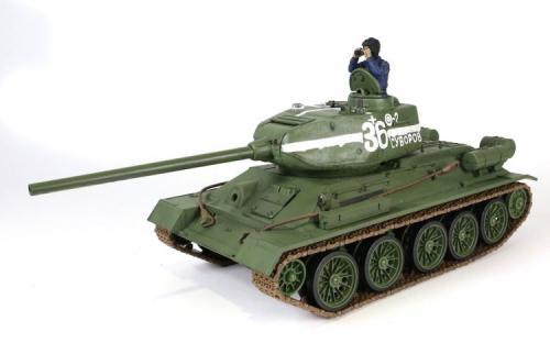 Waltersons Czołg zdalnie sterowany T-34/85 1:24 (2RC4002)