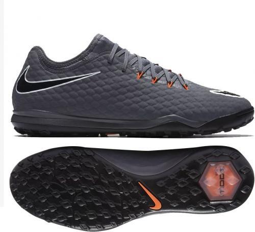 Nike Buty piłkarskie Hypervenom PhantomX 3 Pro TF szare r. 42 (AH7283 081)