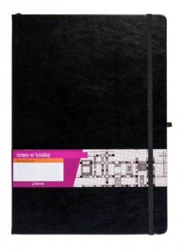ANTRA Notes A5 Kratka Formalizm Czarny ANTRA