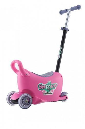 Milly Mally  Jeździk Snoop! 3w1 Pink