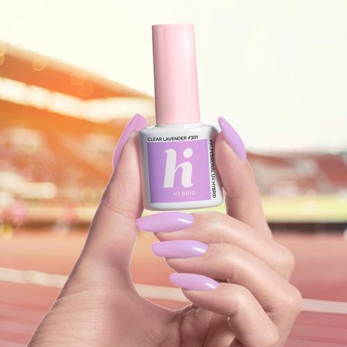 Hi Hybrid Lakier hybrydowy 301 Clear Lavender  5ml