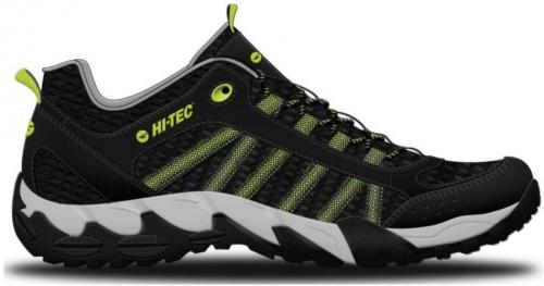 Hi-tec Buty Męskie Pakomo Black/Lime/Light Grey r. 45
