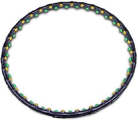 Hertz Hula-Hoop Sempre 1 czarne 98 cm (10636)
