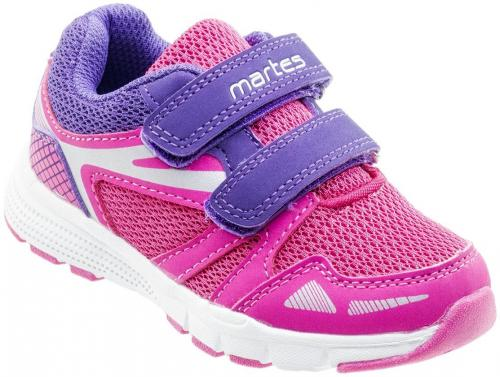 MARTES Buty juniorskie CALERI KIDS Fuchsia/ Purple/ Silver r. 24
