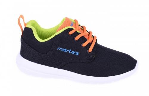 MARTES Buty dziecięce KODARI JR black/orange/lime/lake blue r. 32