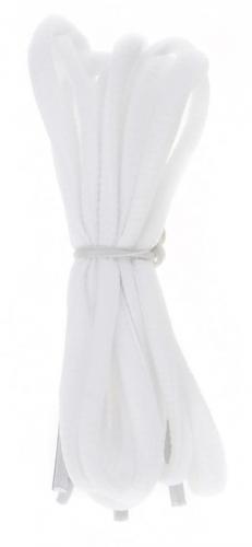 Martes Sznurówki Lace Slim White 120 cm