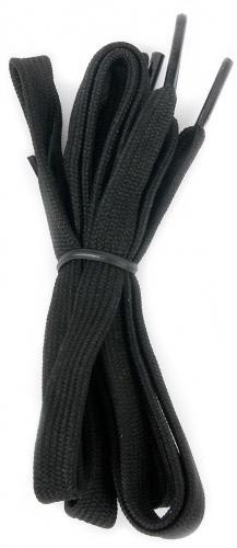 Martes Sznurówki Lace Flat Black 90 cm