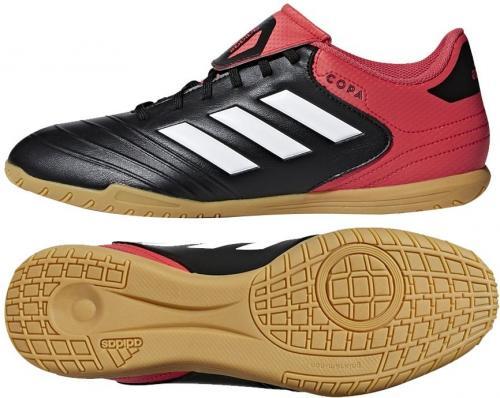 Adidas Buty piłkarskie Copa Tango 18.4 IN czarno-czerwone r. 44 2/3 (CP8964)