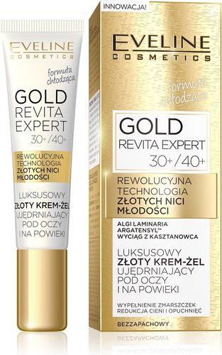 Eveline EVELINE*GOLD REVITA EXPERT Krem pod oczy i powieki - 087739