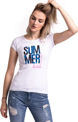 Outhorn Koszulka damska HOL18-TSD618 biała r. M