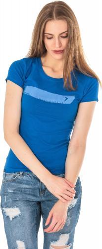 Outhorn Koszulka damska HOL18-TSD606 kobaltowa r. L