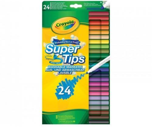Crayola Flamastry spieralne 24 kolory (268854)
