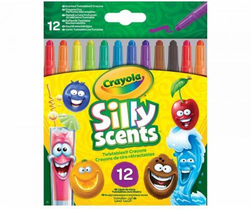 Crayola Kredki wykręcane mini Silly Scents CRAYOLA