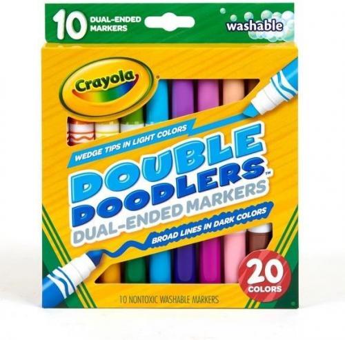 Crayola Markery dwustronne 10 kolorów (268857)
