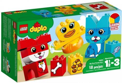 LEGO DUPLO Moje pierwsze zwierzątka (LG10858)