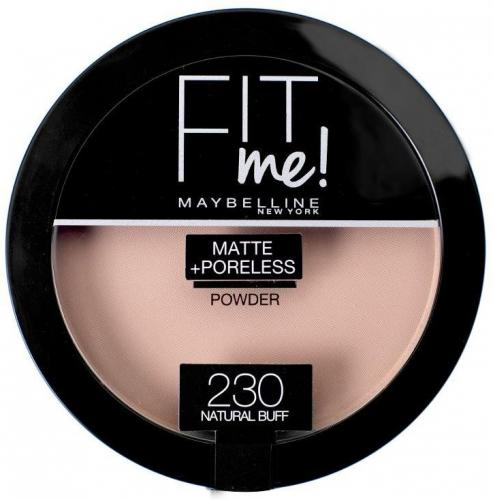 Maybelline  Fit Me! Puder w kamieniu matujący  230 Natural Buff 14g