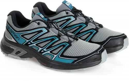 Salomon Buty męskie Wings Flyte 2 Quiet Shade/Black/Mallard Blue r. 46 (394714)
