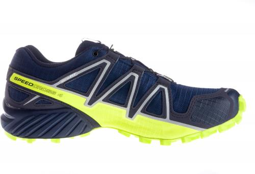 Salomon Buty męskie Speedcross 4 GTX Medieval Blue/Acid Lime/Graphite r. 45 1/3 (400938)