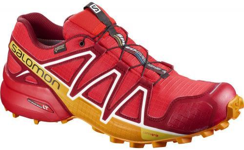 Salomon Buty męskie Speedcross 4 GTX Fiery Red/Red Dahlia/Bright Marigold r. 42 2/3 (400932)