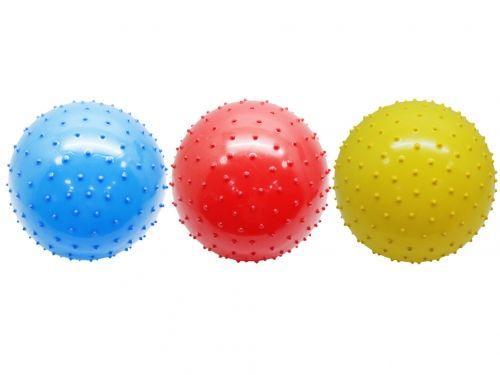 MEGA CREATIVE Piłka kolorowa z wypustkami 23cm (G09057)
