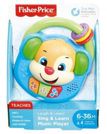 Mattel  Muzyczny odtwarzacz szczeniaczka (FPV13 407421)