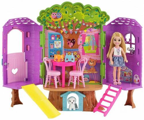 Mattel Barbie Chelsea Domek na drzewie (FPF83)