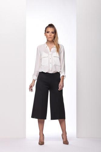Lemoniade Eleganckie oryginalne spodnie 3/4 L111 czarne r. L