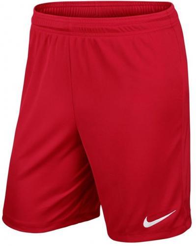 Nike Spodenki piłkarskie Park II Knit czerwone r. S (725887-657)